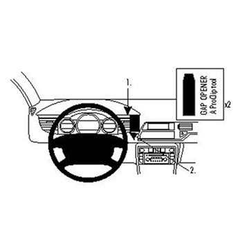 Brodit ProClip - Citroen C5 III 08-16