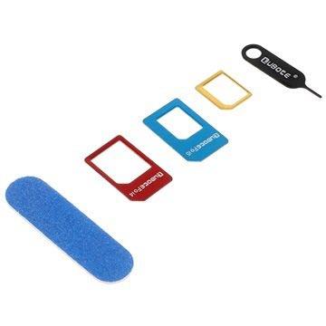3 i 1 SIM-Kort Adapter Sett