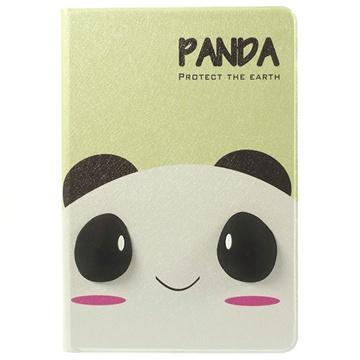 3D Smart L?rveske - iPad Mini, iPad Mini 2, iPad Mini 3 - Panda