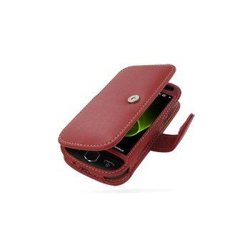 Samsung i8000 Omnia II PDair Lærveske 3RSSI8B41  - Rød