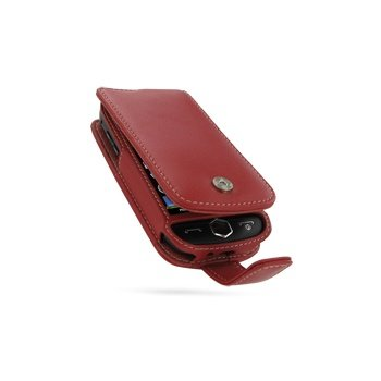 Samsung i8000 Omnia II PDair Lærveske 3RSSI8F41 - Rød