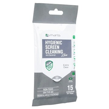 4smarts Screen Cleaner Cleaning Wipes - Extra Clean