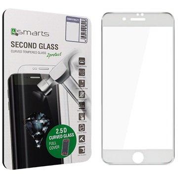 iPhone 7 Plus 4smarts Kurvet Glass Skjermbeskyttelse - Hvit
