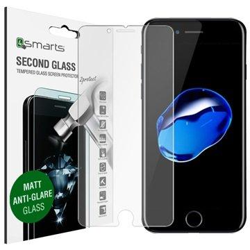 iPhone 7 4smarts Second Glass Matte Skjermbeskyttelse - Antirefleks