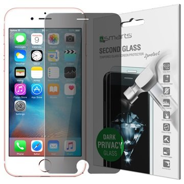 iPhone 6 / 6S 4smarts Second Glass Privacy Skjermbeskyttelse