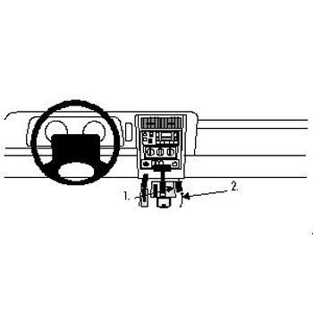Brodit ProClip Jeep Cherokee 97-01