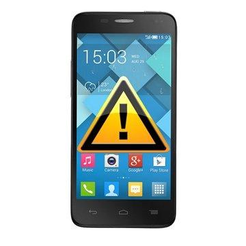 Alcatel One Touch Idol Mini Reparasjon av SIM-kort Leser