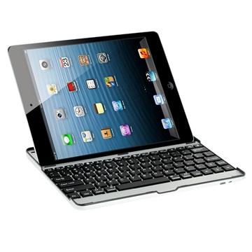 Aluminium Bluetooth Tastatur - iPad 2, iPad 3, iPad 4 - Sølv