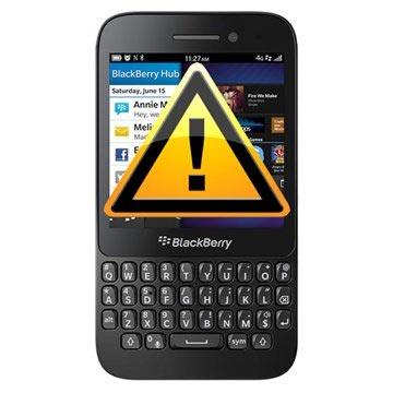 Blackberry Q5 Reparasjon av SIM-kort Leser