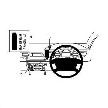 Brodit 654329 ProClip Citroen C5 III 08-16