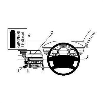 Brodit 654181 ProClip Citroen C5 III 08-15