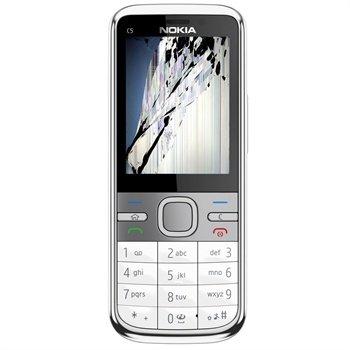Reparasjon av Nokia C5 LCD-display