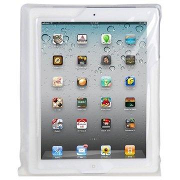 DiCAPac WP-i20 Vanntett Veske - iPad, iPad 2, iPad 3, iPad 4 - Hvit / Gjennomsiktig