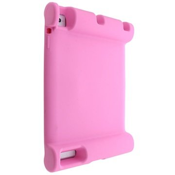 Easy Hold Silikondeksel - iPad 2, iPad 3, iPad 4 - Rosa