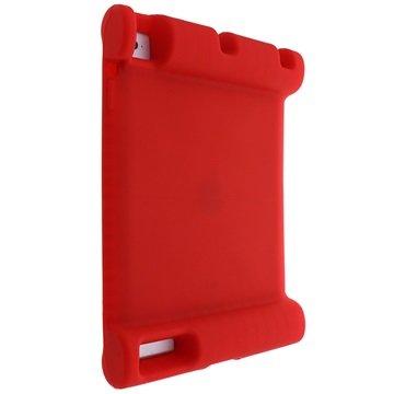 Easy Hold Silikondeksel - iPad 2, iPad 3, iPad 4 - Rød