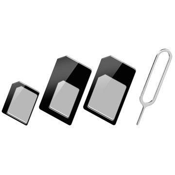 Goobay 3 i 1 SIM-Kort Adaptersett