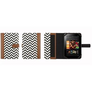Griffin Elan Passport Tablet Veske 7 - Tobakk / Zig Zag