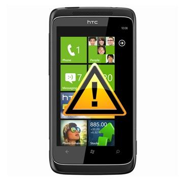 HTC 7 Pro Reparasjon av SIM-kort Leser