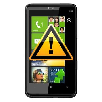 HTC 7 Trophy Reparasjon av SIM-kort Leser