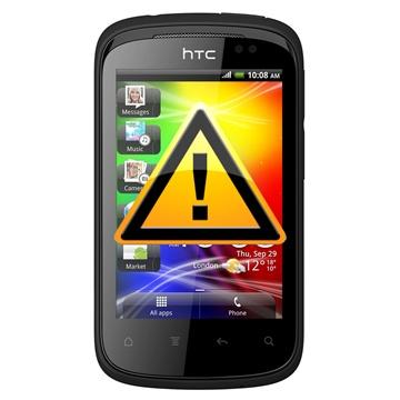 HTC Explorer Reparasjon av SIM-kort Leser