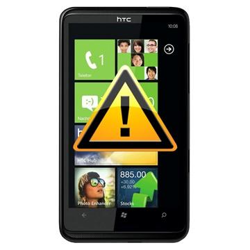 HTC HD7 Reparasjon av SIM-kort Leser