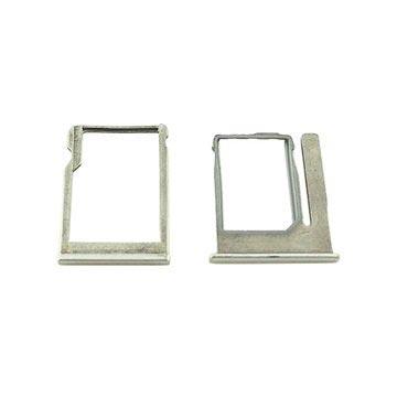HTC One Mini 2 SIM & MicroSD-kort Skuffe - Sølv