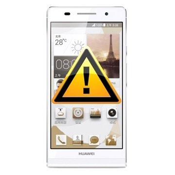 Huawei Ascend P6 Reparasjon av SIM-kort Leser