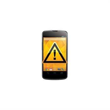 LG Nexus 4 E960 Reparasjon av SIM-kort Leser