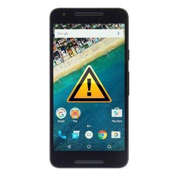 LG Nexus 5X Reparasjon av SIM-kort Leser