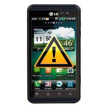 LG Optimus 3D P920 Reparasjon av SIM-kort Leser