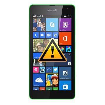 Microsoft Lumia 535 Reparasjon av SIM-kort Leser