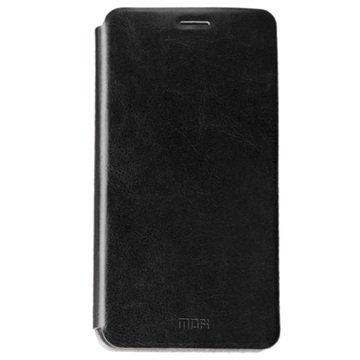 Samsung Galaxy C5 Mofi Rui Flip-deksel - Svart