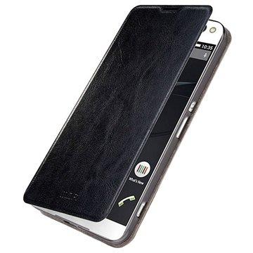 Sony Xperia C5 Ultra, Xperia C5 Ultra Dual Mofi Rui Series Flip Veske - Svart