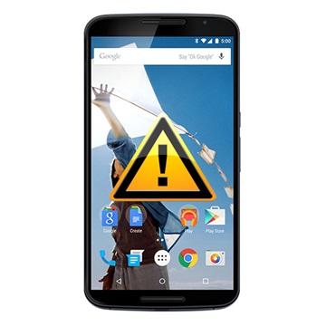 Motorola Nexus 6 Reparasjon av SIM-kort Leser