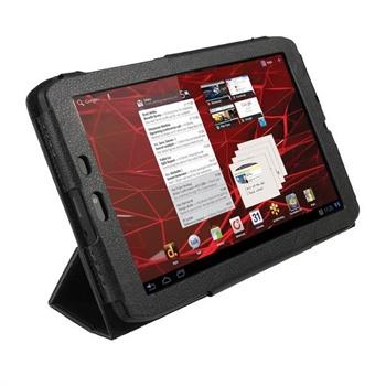 Motorola XOOM 2 Media Edition 3G MZ608 iGadgitz PU L�retui - Svart