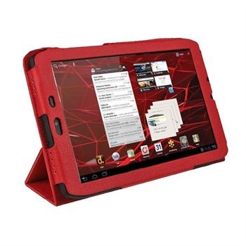 Motorola XOOM 2 Media Edition 3G MZ608 iGadgitz PU L�retui - R�d