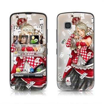 Nokia C5 Queen Of Cards Skin