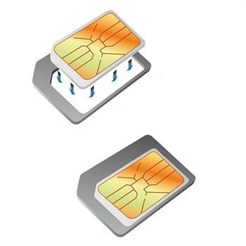 Nano SIM-kort Til Micro SIM-kort Adapter