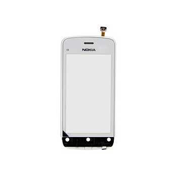 Nokia C5-03 Front Deksel - Hvit
