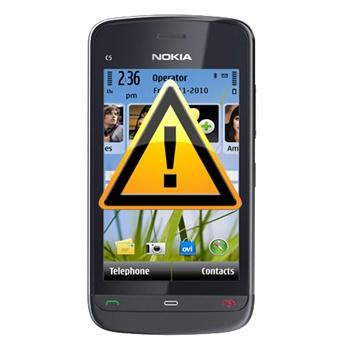 Reparasjon av Nokia C5-03 AV-plugg