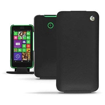 Nokia Lumia 630, Nokia Lumia 635 Noreve Tradition Flip L?rveske - M?rk
