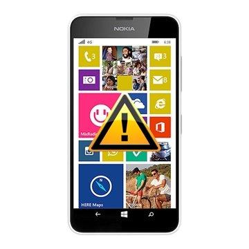 Nokia Lumia 638 Reparasjon av SIM-kort Leser