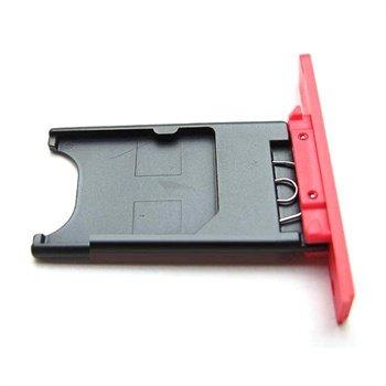 Nokia Lumia 800 Sim Kort Holder - Magenta
