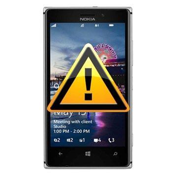 Nokia Lumia 925 Reparasjon av SIM-kort Leser