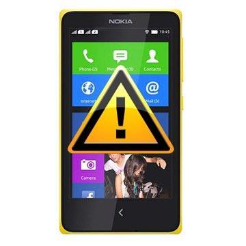 Nokia X Reparasjon av SIM-kort Leser