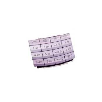 Nokia X3-02 Touch and Type Tastatur Latin - Lilla