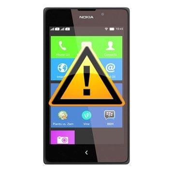 Nokia XL Reparasjon av SIM-kort Leser