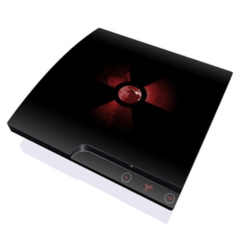 Sony PlayStation 3 Slim Skin - Nuclear
