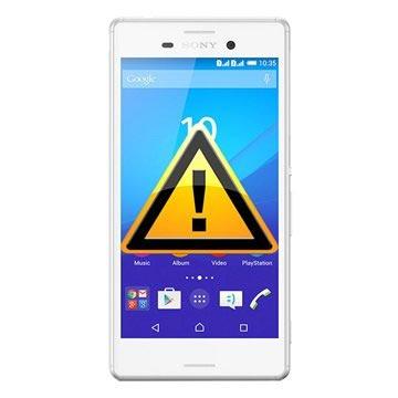 Sony Xperia M4 Aqua Reparasjon av SIM-kort Leser