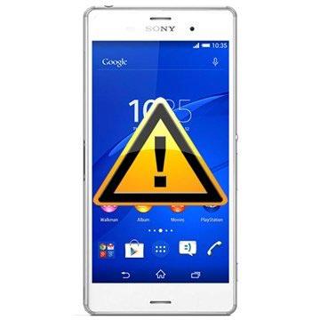 Sony Xperia Z3 Reparasjon av SIM-kort Leser